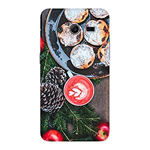 NEO WORLD Remarkable Coffee Cake Back Case Cover for Galaxy Core 2