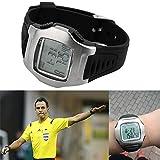 Armbanduhren Mode-Accessoires, Fu?ball Schiedsrichter Timer Sport Spiel Digital Armbanduhr Fu?ball Chronograph