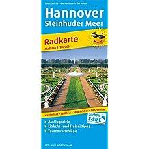 Hannover - Steinhuder Meer: Radkarte mit Ausflugszielen, Einkehr- & Freizeittipps, wetterfest, reissfest, abwischbar, GPS-genau. 1:100000 (Radkarte / RK)