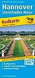 Hannover - Steinhuder Meer: Radkarte mit Ausflugszielen, Einkehr- & Freizeittipps, wetterfest, reissfest, abwischbar, GPS-genau. 1:100000 (Radkarte / RK) -