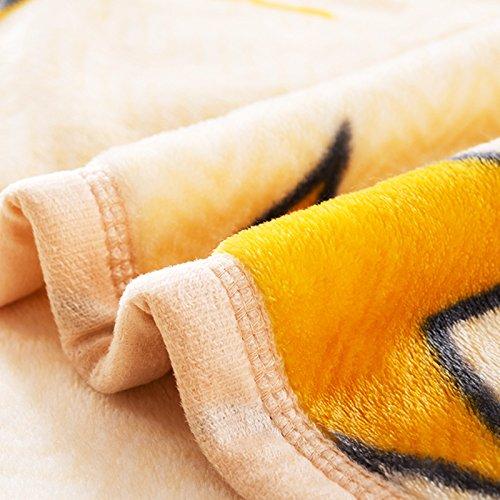 BDUK Die dicke Decke aus einem Stück Flanell Bettwäsche 2 Handtuch war , und das Büro des Coral Decke Studenten