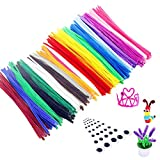 BJ-SHOP Limpiapipas, Limpiapipas para Manualidades DIY Handmade Chenille Stems Colourful Furry Wire...