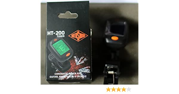 Rotosound HT-200 Clip Guitar Tuner New.