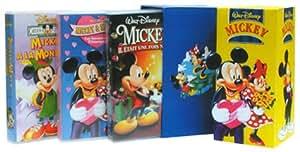 Coffret Mickey 3 VHS : Mickey, il était une fois Noël / Les Amours de Printemps / Mickey à la montagne