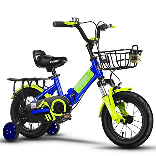 HYCy Children's Bicycle Shock Absorber Car Boy Folding 4-5-6-7-8 Years Old Girl Baby