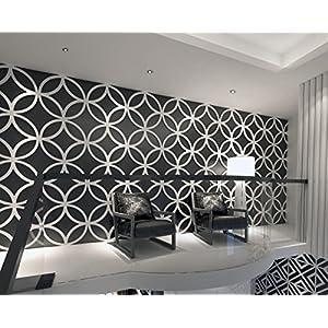 HomeArtDecor – Stars – 3D Wandpaneele – Wandpaneele – Geometrische Kunst – Wandverkleidung – Paneel – Dekorative Wandpaneele – 3D Fliesen