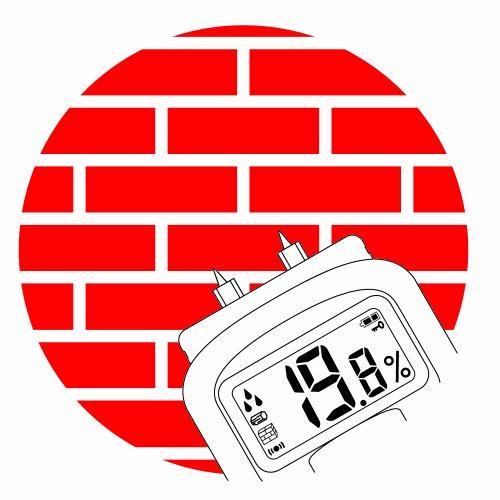 Brennenstuhl Feuchtigkeits-Detector MD, 1298680 Feuchtigkeitsmesser Feuchtigkeitsbestimmung von Wänden