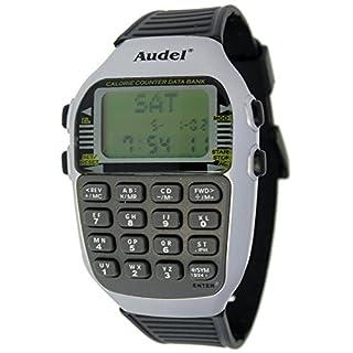 Audel MC-5101Armbanduhr, Wecker, Stoppuhr, Datenbank Taschenrechner