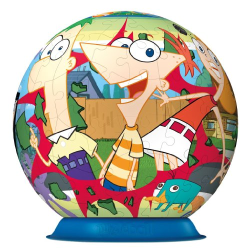 Ravensburger Phineas & Ferb Puzzleball 108 Pieces