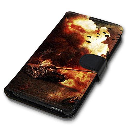 Wallet Book Style Flip Handy Tasche Case Schutz Hülle Schale Motiv Etui für Apple iPhone 4 / 4S - Variante UMV11 Design12 Design 11
