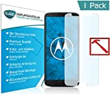 Slabo Premium Panzerglasfolie Motorola Moto G6 Schutzfolie Echtglas Displayschutzfolie Folie (verkleinerte Folien, aufgrund der Wölbung des Displays) Tempered Glass KLAR - 9H Hartglas