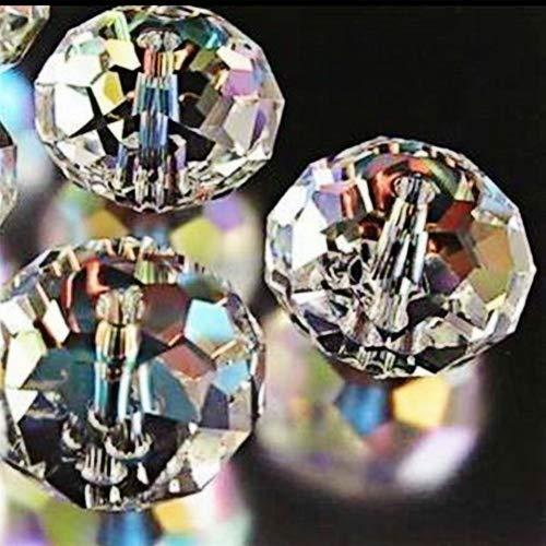 Österreichische 5040-Kristalle, AB-Perlen, in verschiedenen Größen zur Auswahl: 4mm, 6mm, 8mm, 10mm, 12mm, von Bingcute Wholesale, 12 mm