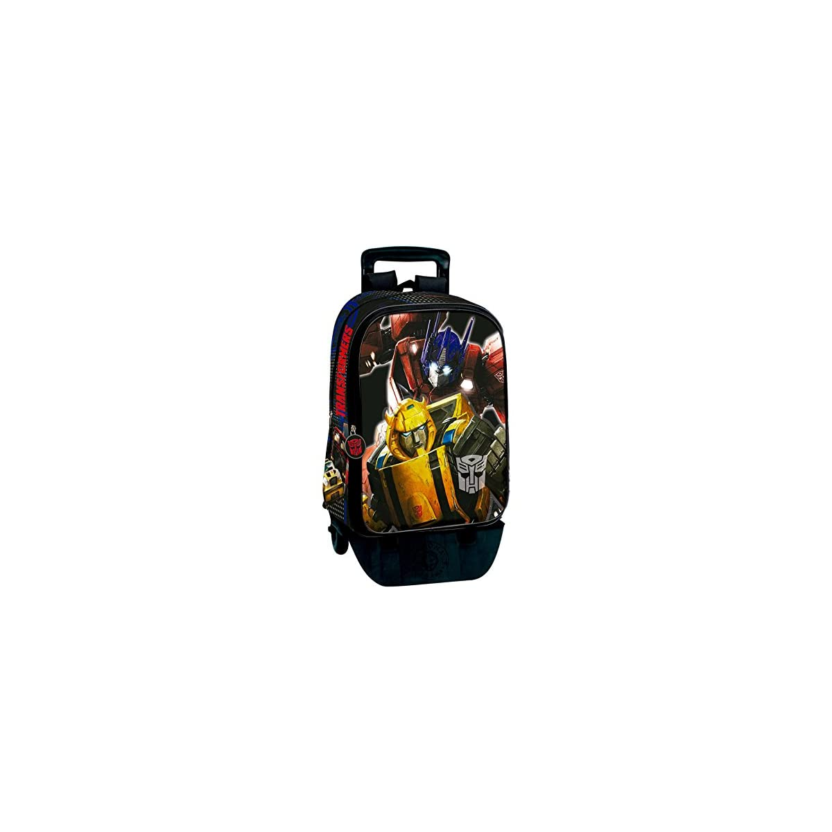 51158QOMPfL. SS1200  - Transformers Mochila con Carro Plegable, Ruedas, Trolley