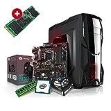 Kiebel Aufrüst Gamer PC (v8) - Intel Core i7-8700K 6-Kerner (6x3.7GHz | Turbo 4.7GHz) | 16GB DDR4 | 240GB SSD | OHNE Grafikkarte, OHNE DVD-Laufwerk | MSI Z370-A Pro | Aufrüst Gaming System, komplett vormontiert und getestet [182238]