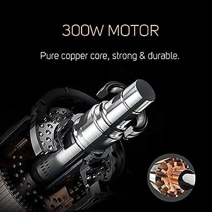 Decen-Smoothie-Maker-Mixer-Mini-Standmixer-Krper-aus-Edelstahl-300W-2-x-600-ml-Tritan-Flaschen-Titanbeschichtete-Klingen-Energieklasse-A
