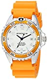 Momentum Women's Quartz Stainless Steel and Rubber Diving Watch, Color: Orange (Model: 1M-DN11LO1O)
