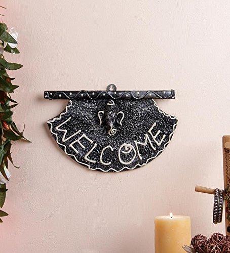 a handgefertigt Beautiful lackiert Custom Namensschild/Welcome Main Door Hanging indischen Home dekorativer Gegenstände Religiöse indischen Wandbehang Home Décor ()