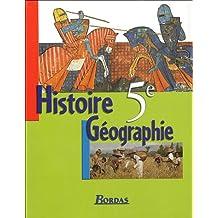 HISTOIRE GEOGRAPHIE 5E MANUEL