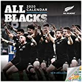 The New Zealand National Rugby Union Team The All Blacks Kalender 2020 All Blacks Wandkalender-Set mit über 100 Kalenderaufklebern