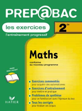 Prépabac, les exercices : Mats, 2nde