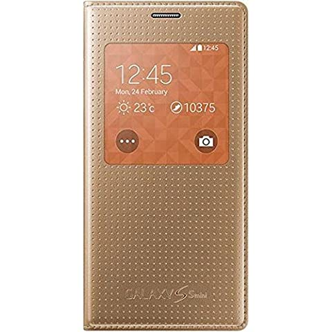 Samsung Punching Pattern S-View Hülle für Galaxy S5 Mini