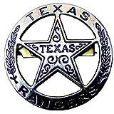 Denix Texasranger - Spilla a forma di stella grigia