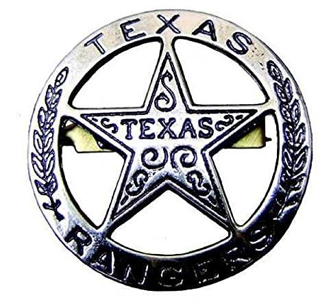 Denix texasranger étoile de sheriff badge de cowboy gris