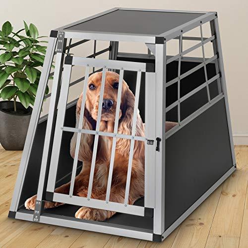 Leopet Alu Hundetransportbox | Größe L, 65x82x69cm |… | 04260102397200