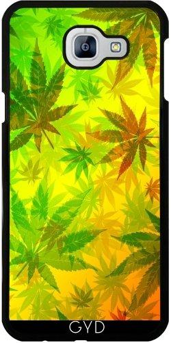 Custodia per Samsung Galaxy A8 2016 (SM-A810) - Colori Rasta E Marijuana by BluedarkArt