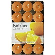 bolsius velas aromticas esencia de t paquete de 30 naranja jugosa 103626944484