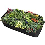 Fabric Raised Garden Bed, Planting Container Outdoor Garden Vegetable Salad Tomato Growbag Plant