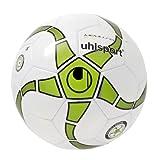 uhlsport Fußball Medusa Keto, Weiß/Grün/Anthramet/Schwa, 4, 100152501