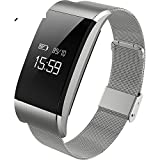 Multifunction Fitness Tracker Smart WristbandHeart Rate And Sleep Monitor Led Pedometer Waterproof Call And Massage Reminder Bluetooth Bracelet C Diameter25cm9inch