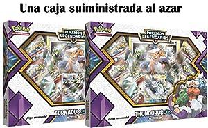 Pokemon JCC- Caja colección tornadus thundurus-gx-español, Color (The Pokemon International Company POGX1807)
