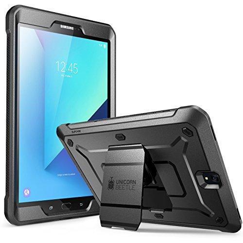 Supcase Samsung Galaxy Tab S3 9.7 Hülle Unicorn Beetle PRO Ganzkörper Case Robust Schutzhülle Schlagfest Cover, Schwarz