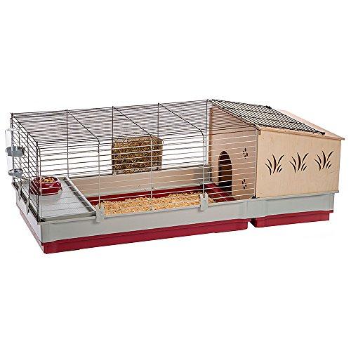 Ferplast 57072570 gabbia per conigli e porcellini d'india