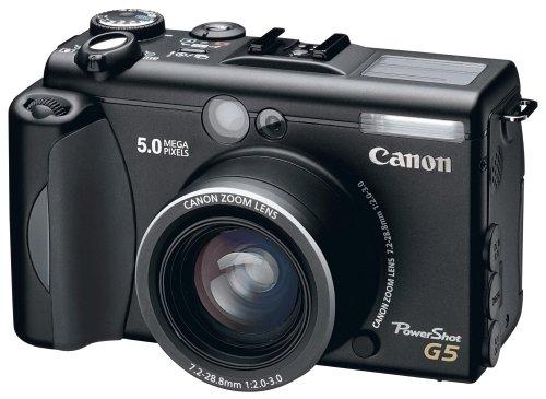 Canon Powershot G5 Digitalkamera ( 5,0 Megapixel) 5 Megapixel Canon Powershot
