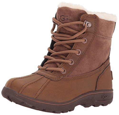 Ugg® - K´s Leggero Kinder Gore-Tex Stiefel, Lammfellstiefel, Winterstiefel, 1012384, Farbe:Chestnut;Größe:US k10/EUR 27