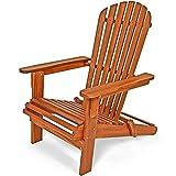 Sonnenstuhl Adirondack aus Akazienholz Liegestuhl Holzstuhl Deckchair klappbar
