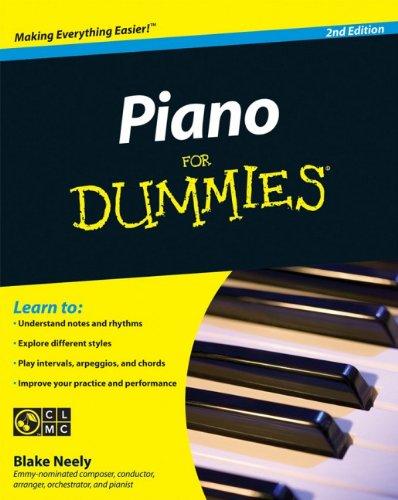 Piano For Dummies por Blake Neely
