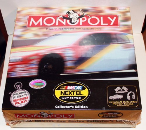 monopoly-nascar-nextel-cup-collectors-edition-by-parker-brothers