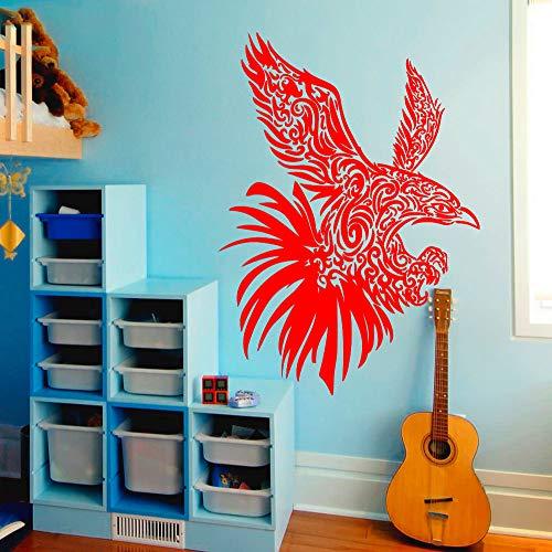 xingbuxin Wall Decal Animal Wall Stickers para Habitaciones de niños Owl Vinyl Decals Night Bird Nursery Bedroom Home Mural Interior Decor 5 42x58cm