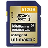 Integral INSDX512G10-95/90U1 Carte SD 512 GB