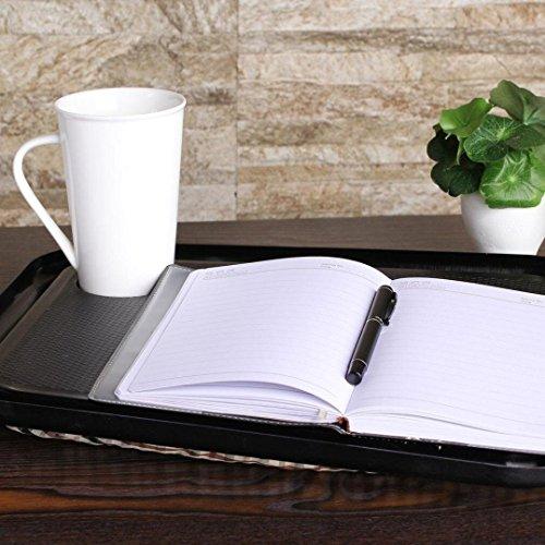 masrin Lap Schreibtisch für Laptop Stuhl Student Studium Hausaufgaben Schreiben tragbar Tablett Schwarz