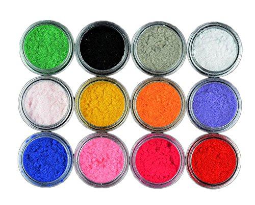 Nail Art Soie Lame Series Décorations ongles - 12 couleurs