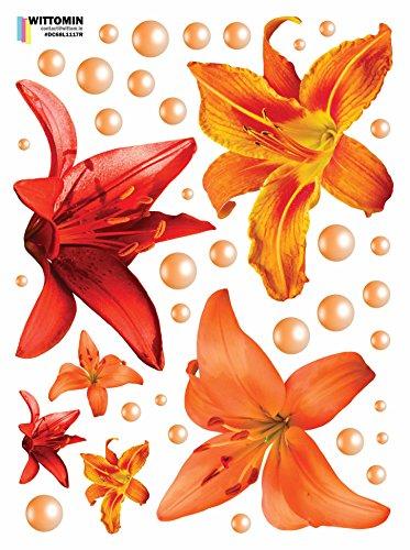 e Lilie Lily Rot Orange Perle (Red Door-perlen)