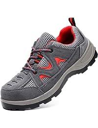 Ali-tone Unisex Zapatillas de Seguridad para Hombre Ligeras S3 Calzado de Trabajo para Comodas