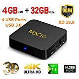 4GB DDR4 32GB MX10 Smart TV-Box Android 7.1.2 - Best Reviews Guide