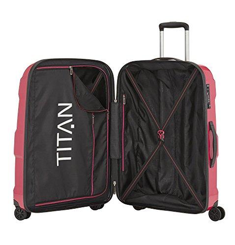 TITAN X2 Hartschalenkoffer Größe M+, 825407-28 Koffer, 71 cm, 90 L, Fresh Pink - 2