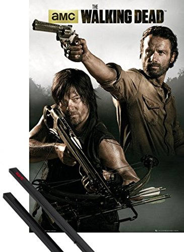 1art1® Póster + Soporte: The Walking Dead Póster